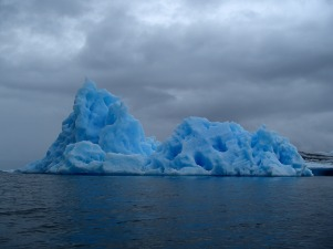 My all-time favorite iceberg, Columbia Bay