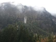Towering cliffs, Long Bay
