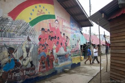 Guna mural, Gardi