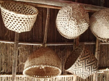 Guna basketry