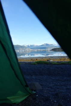 Another gorgeous view from the tent