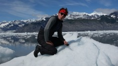 """I must taset the ice"", Columbia Glacier"
