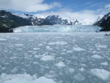 Face of Meares Glacier