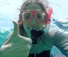 I love snorkeling!