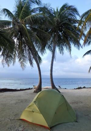 Paradise campsite