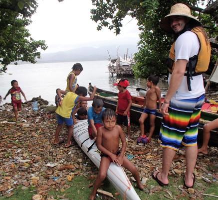 Jared and his crew of Guna boys