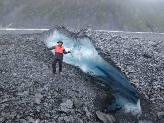 Exploration on the Valdez Glacier