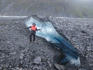 Exploration on the Valdez Glacier
