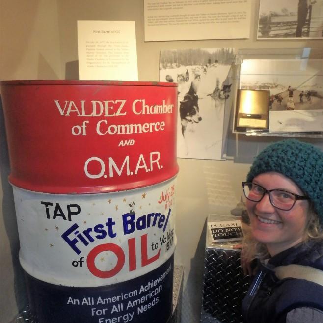 The First Barrel of Oil arrives to Valdez