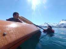 Rescue practice, cold water