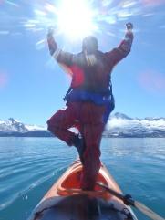 Kayak yoga before making the plunge!