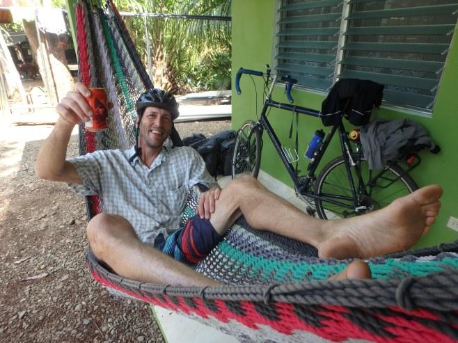 Saludos! At Hostal Iguana Verde