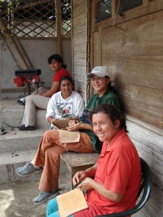 """Las Colibris"" women's group, Ecuador, 2007"