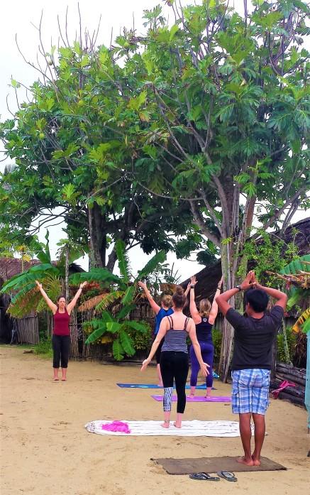 Morning yoga on Nurdup