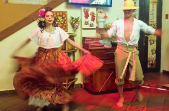 Typical Panamanian dancing