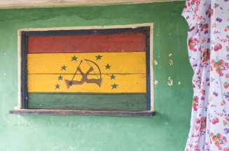 More recent Guna Revolutionary flag