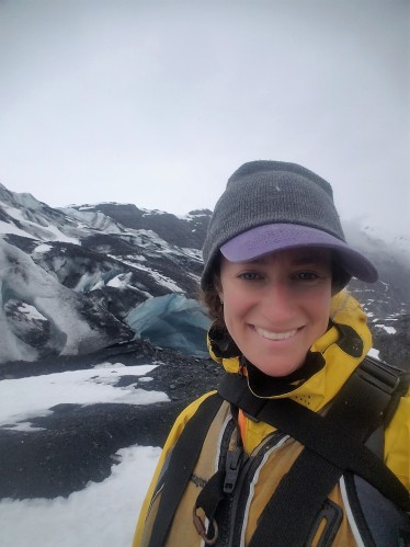 In front of Shoup Glacier, Alaska