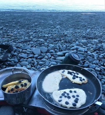 Blueberry Pancake Morning! Glacier Island