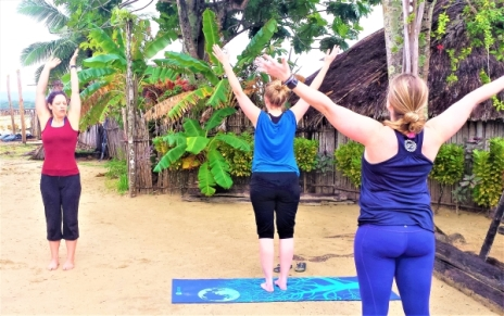 Rejuvenating yoga by the sea, Panama