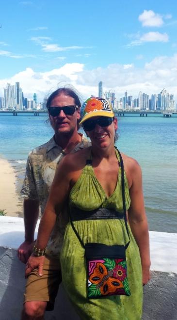 Enjoying Casco Viejo, Panama City