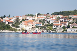 Paddling in Northern Dalmatia