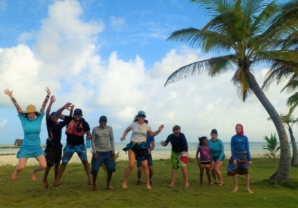 Jump shots are always welcome, Guna Yala