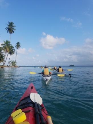 Paddling in Guna Yala (San Blas)