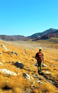Beautiful day for a hike, Paklenica National Park