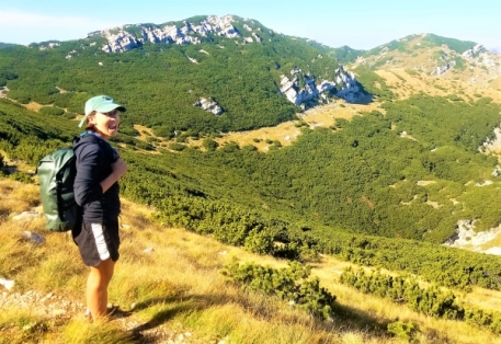What a view! Velebit Mountains, Paklenica National Park
