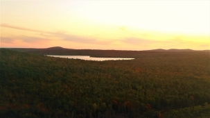 Sunset from atop Brockway Mountain