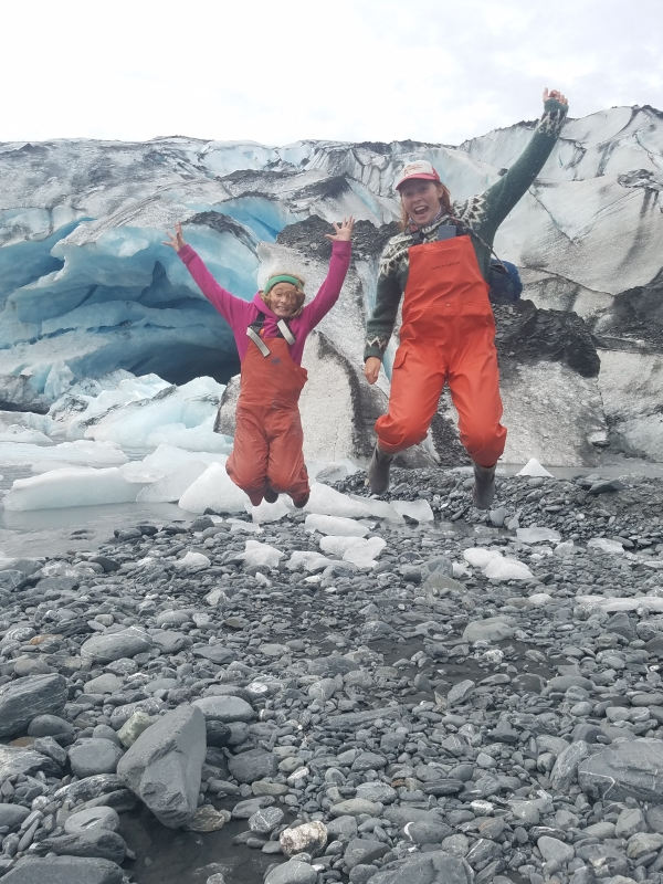 Spreading the glacial love, Shoup Glacier