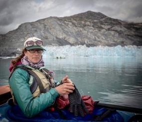 Face of Columbia Glacier