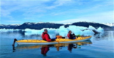 All smiles in Columbia Bay, Prince William Sound