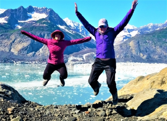Hyped up at Columbia Glacier