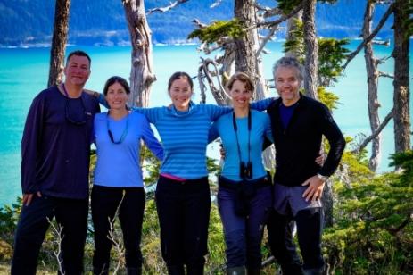 Glacier Island hike