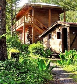 Lodge and sauna